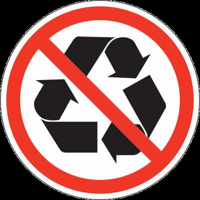 Non Recyclable Newsbug Info