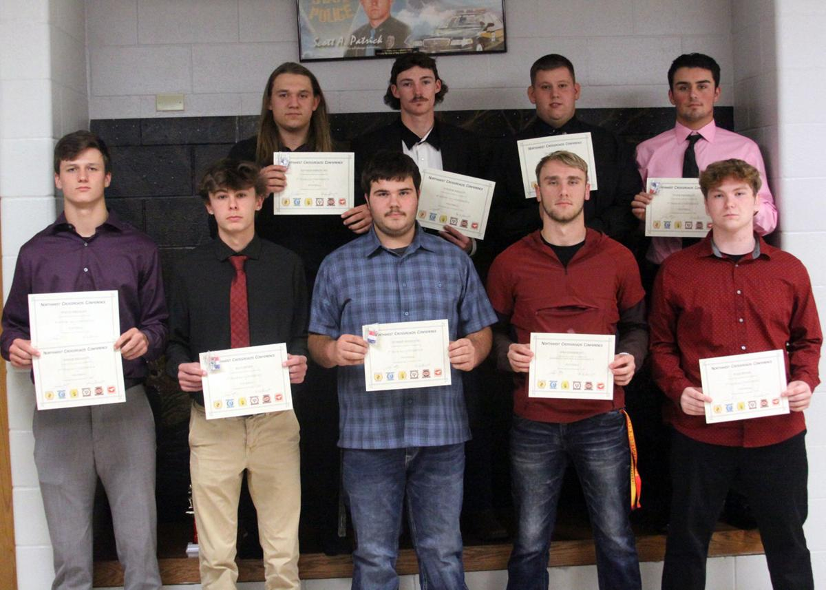 All-Conference Football Players