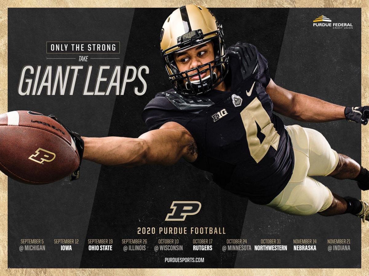 Rondale Moore poster schedule