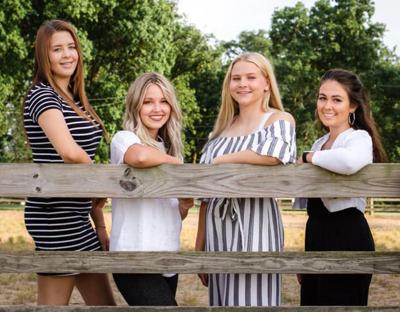 2020 Jasper County Fair Queen candidates