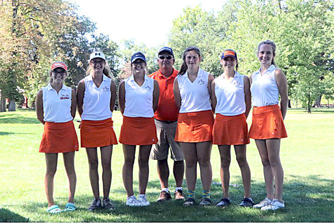 NN girls golf conf champs
