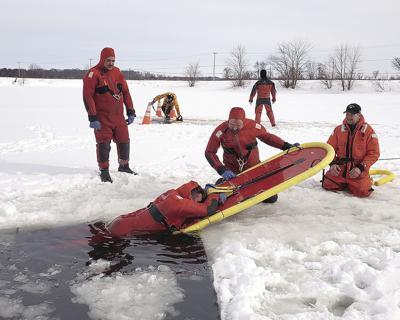 LV ice rescue training