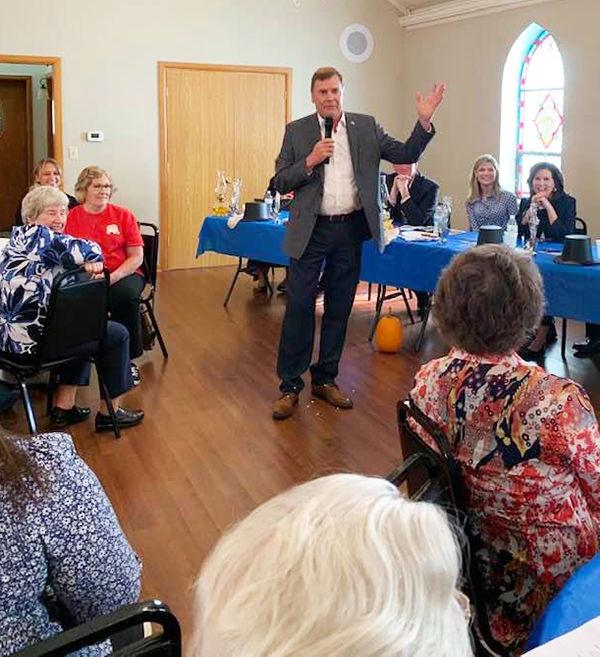 Culp visits Pulaski County