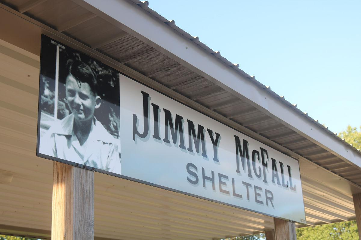 McFall Shelter sign