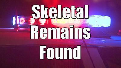 Skeletal remains found logo
