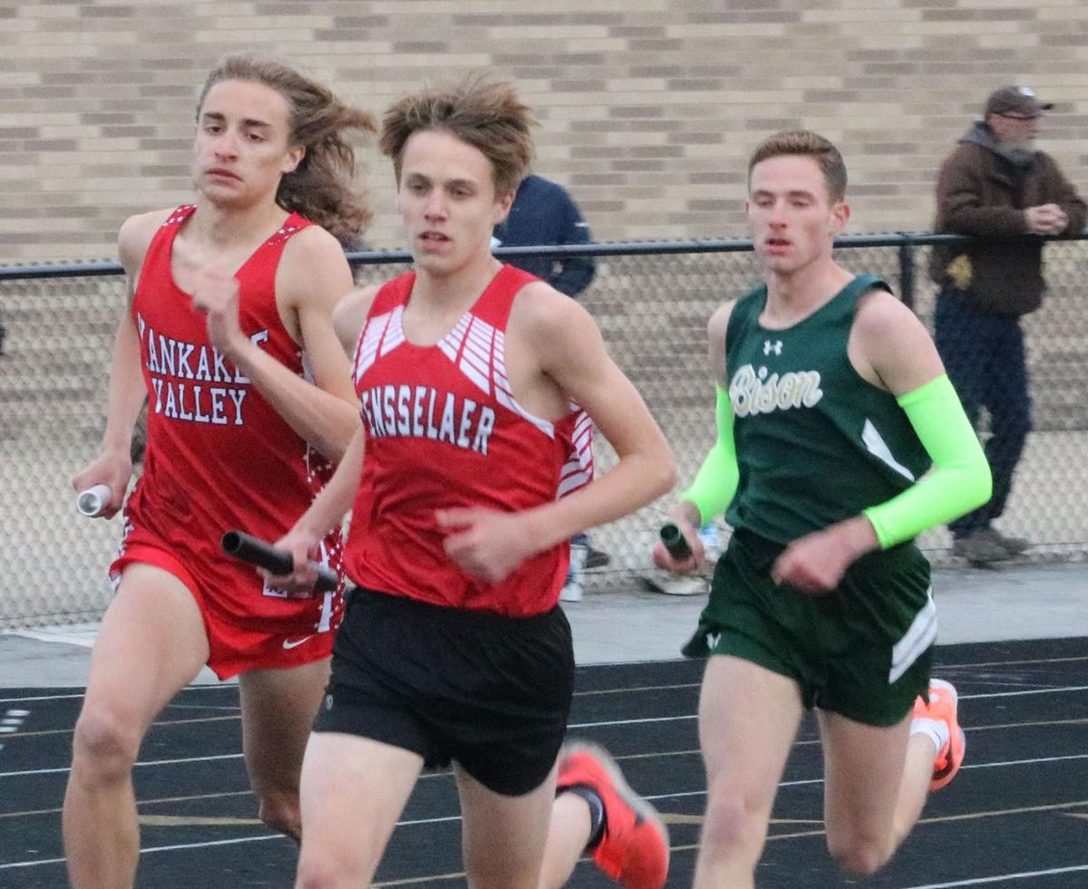 Hoffman involved in three of KV's four wins in boys' races