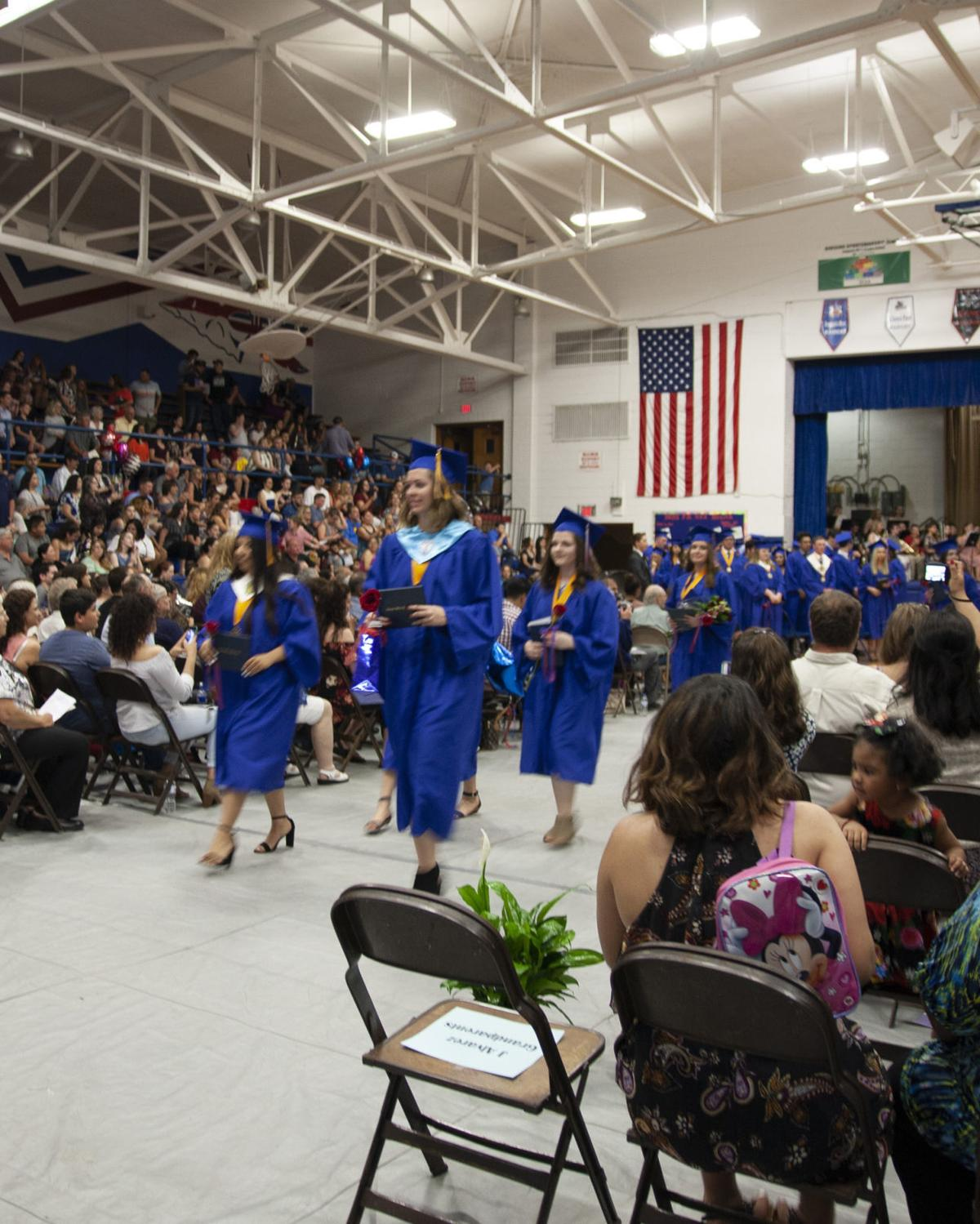 Iroquois West High School Graduation May 25 2018 Iroquois