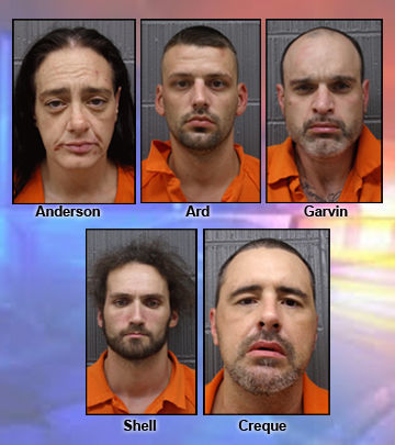 Five arrested on multiple drug-related charges | Monticello Herald