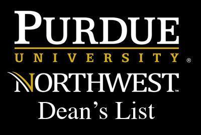 Purdue University Northwest Dean's List logo