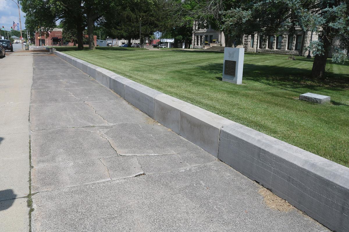 Depressed sidewalks