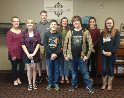 Kankakee Valley High School May Students of the Month