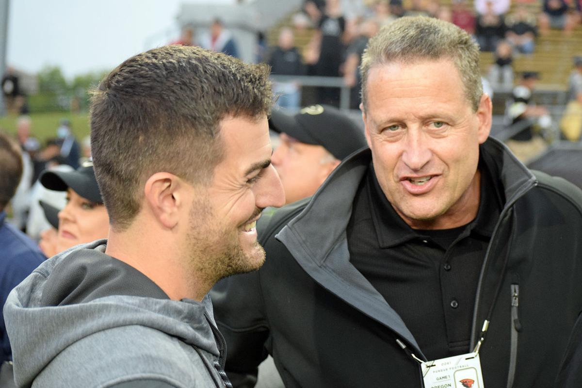 Meeting of Purdue quarterbacks