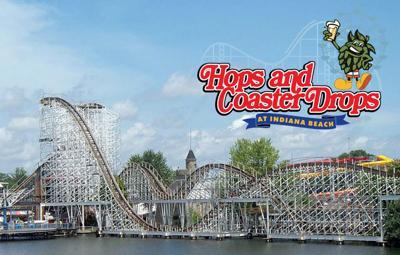 Hops and Coaster Drops logo