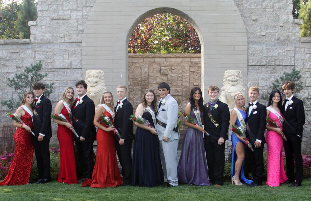 KVHS homecoming couples