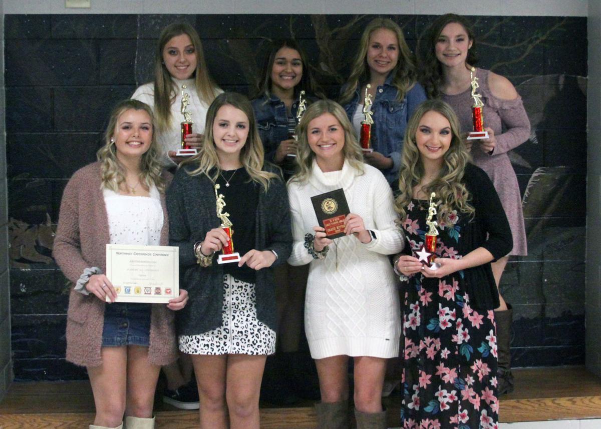 Varsity Cheerleader KV Fall Sports Award Winners