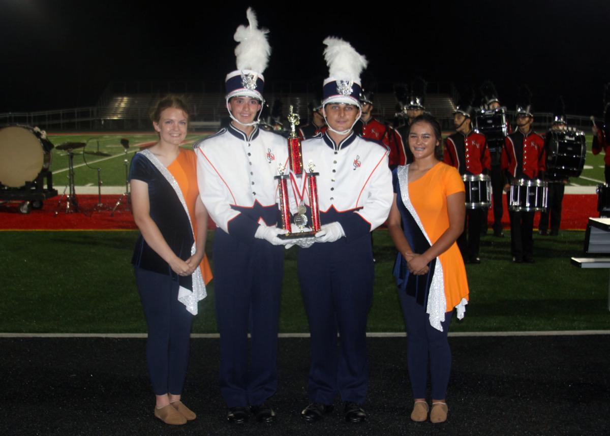 Spartan Band trophy