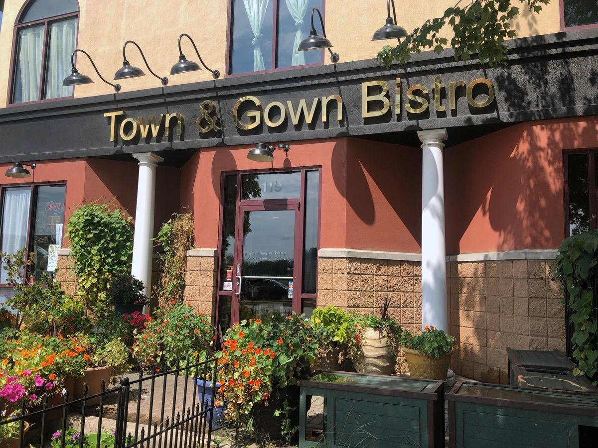 From casual meals to fine dining, Town & Gown Bistro has you covered ...