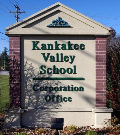 Kankakee Valley admin office stock image