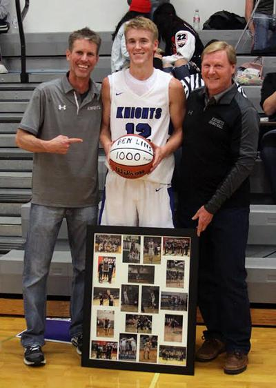 Lins hits 3 to get 1,000th
