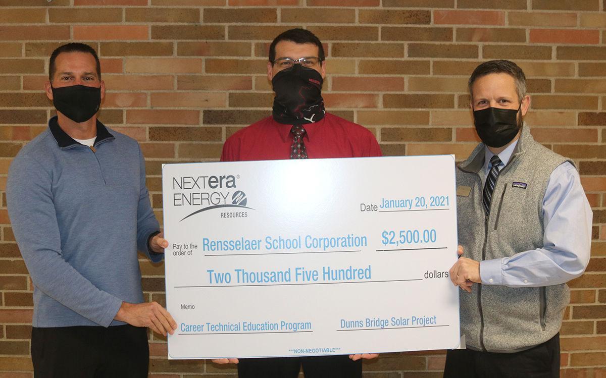 NextEra donation to RCHS