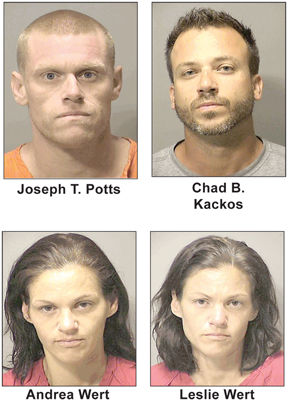 4 suspects
