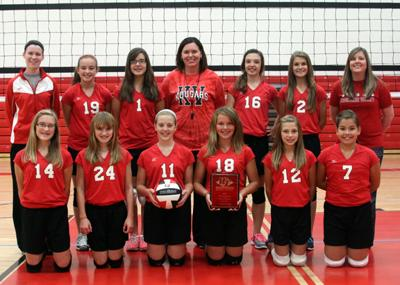 7th Grade Volleyball Team Winners