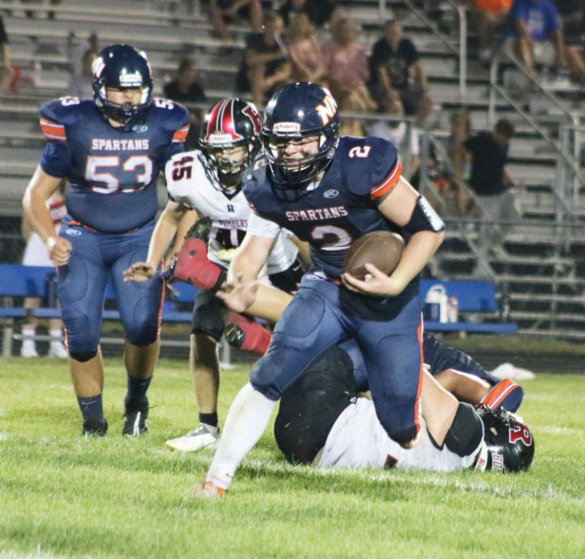 Rowland leads Spartans' running game