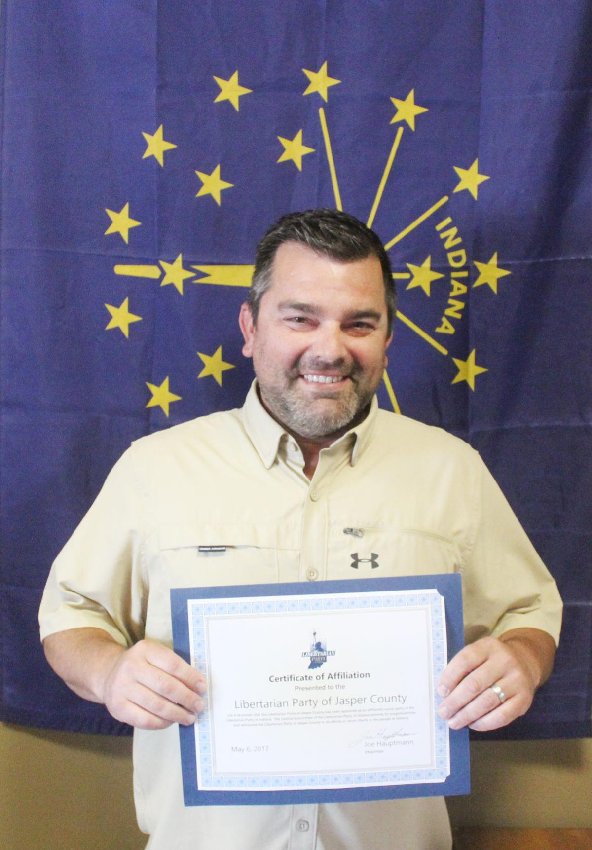 Indiana jasper county tefft - Jasper County Libertarian Party Gains Official Recognition
