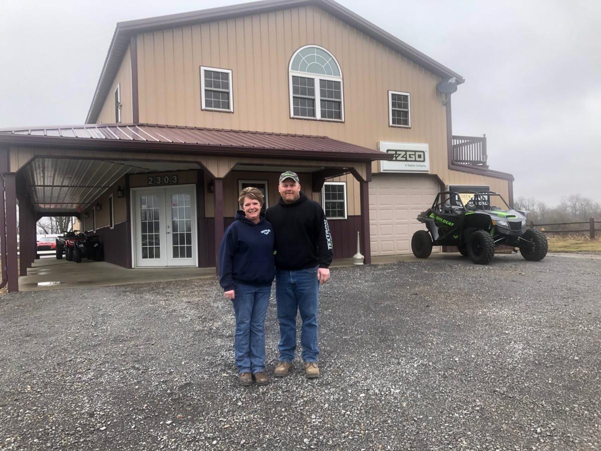 [left to rihgt] Tammy and Tommy Bryant are the owners of Tommy B's Powersports