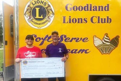 Goodland Lions Club donation