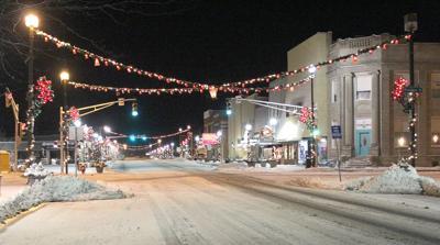 City Christmas lights on last legs