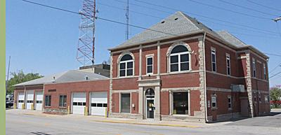 Monticello 1904 fire station/city hall