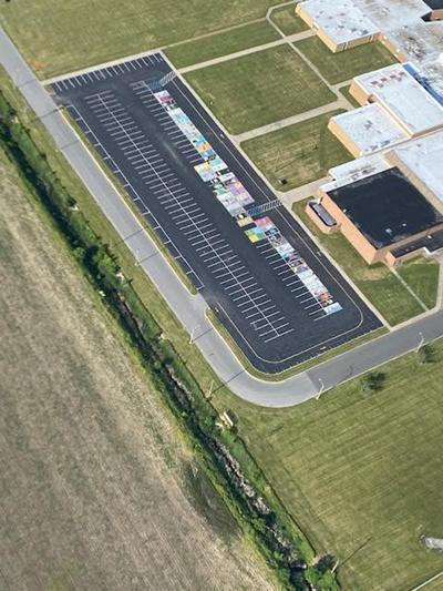 Parking lot at RCHS