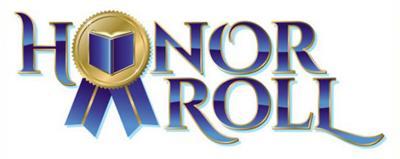 Honor Roll logo stock image