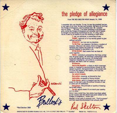 Image result for red skelton pledge of allegiance images