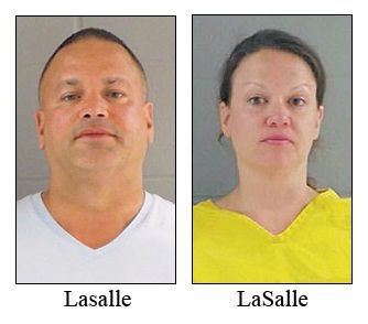 Couple charged in Lake Freeman altercation with law