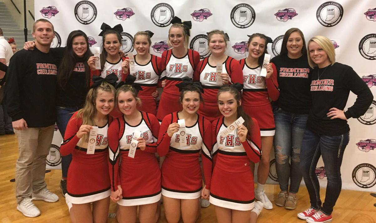 Frontier cheer team