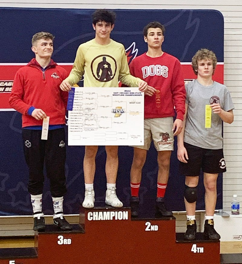 Solomey takes 3rd in his division