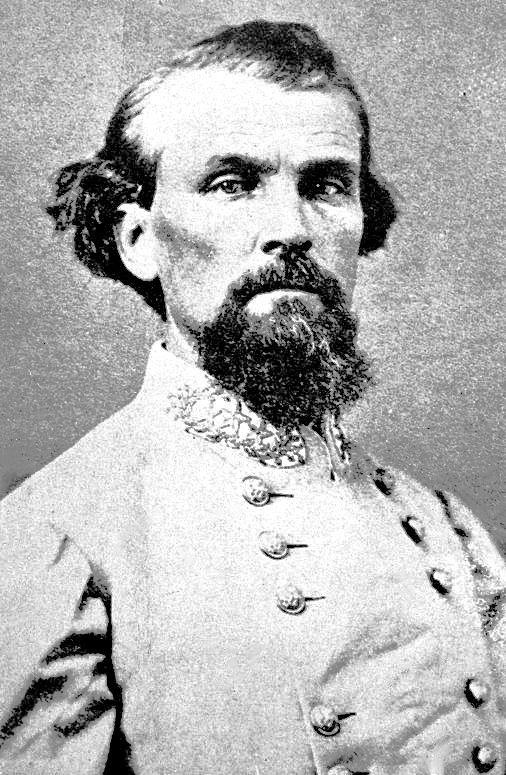 Confederate Army Maj. Gen. Nathan Bedford Forrest