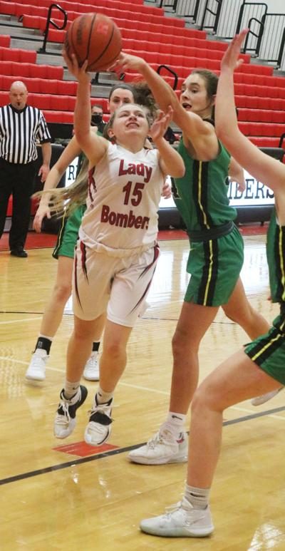 Lady Bombers shoot less than 30 percent in loss