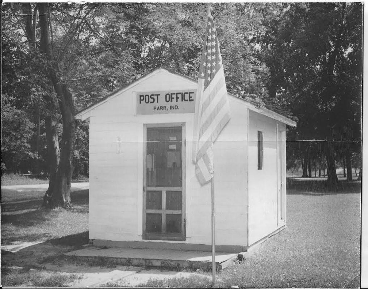 Parr Post Office then