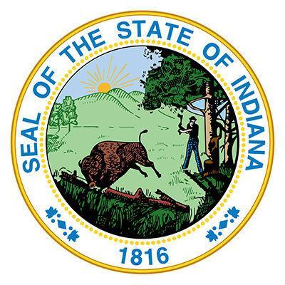 Indiana State Seal logo