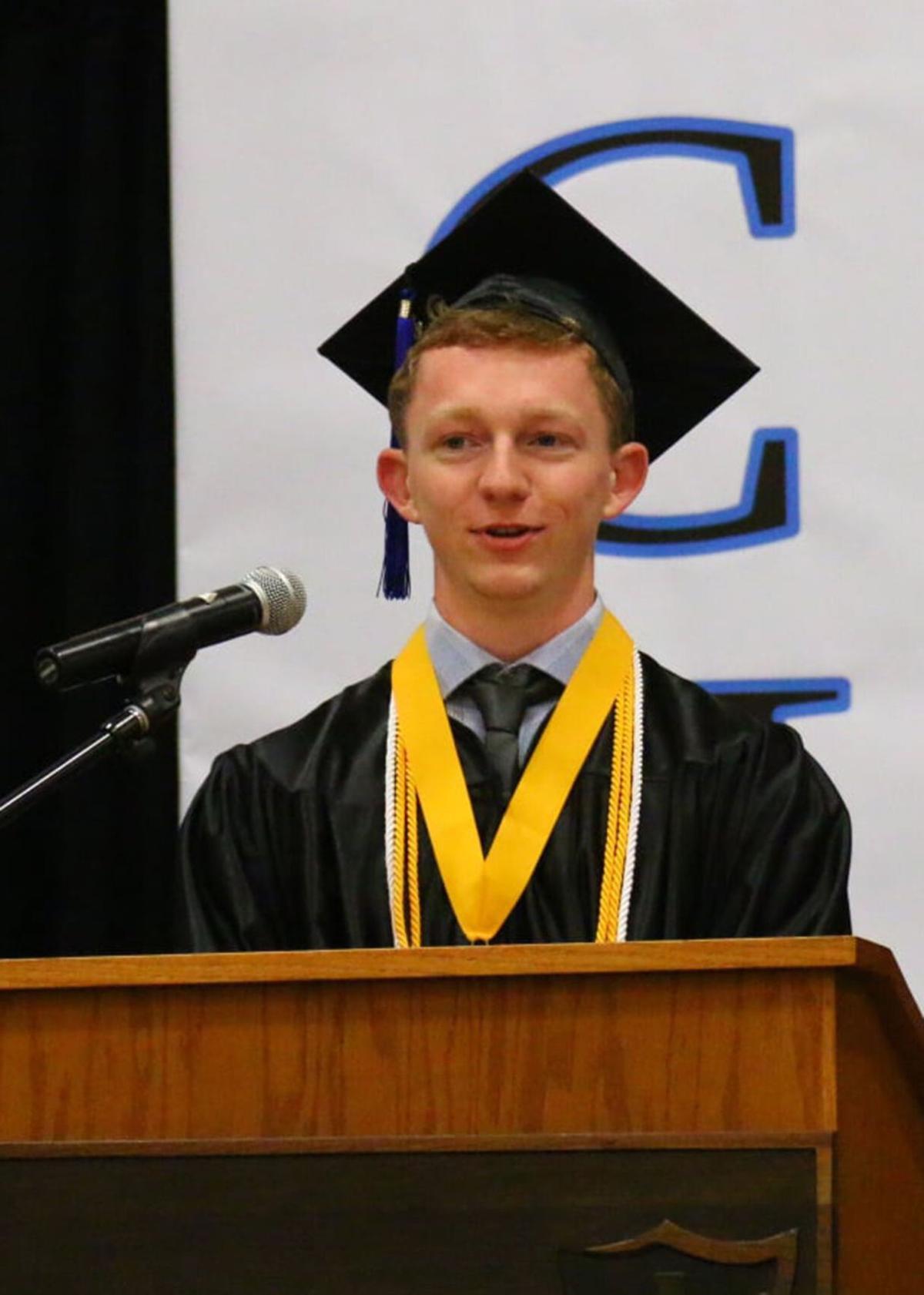 Valedictorian Branton Tolkamp
