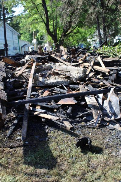 Fire rubble