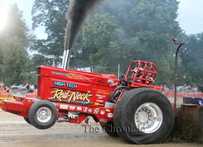 Annual tractor pull draws crowds to Rossville, raises funds for FFA scholarships