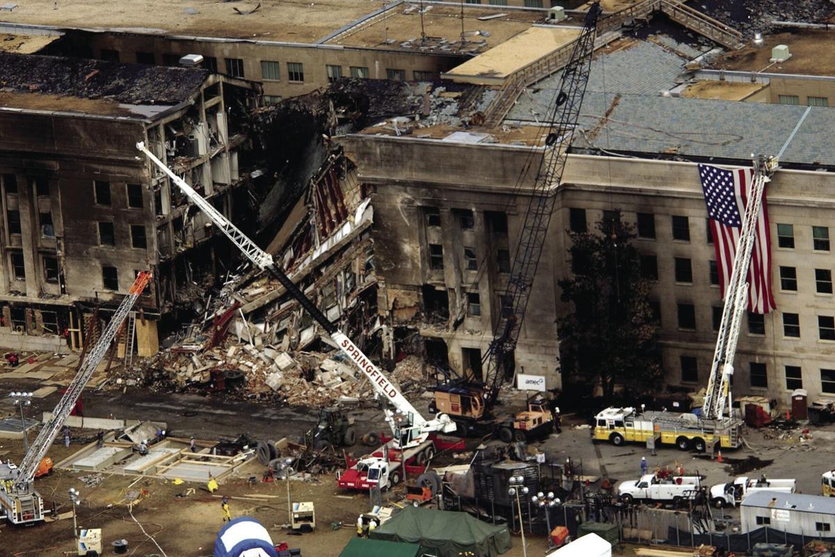 Pentagon damage