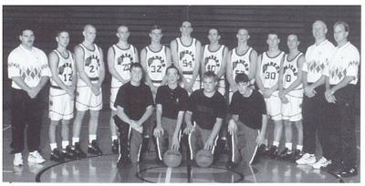 The 1995 RCHS boys basketball team