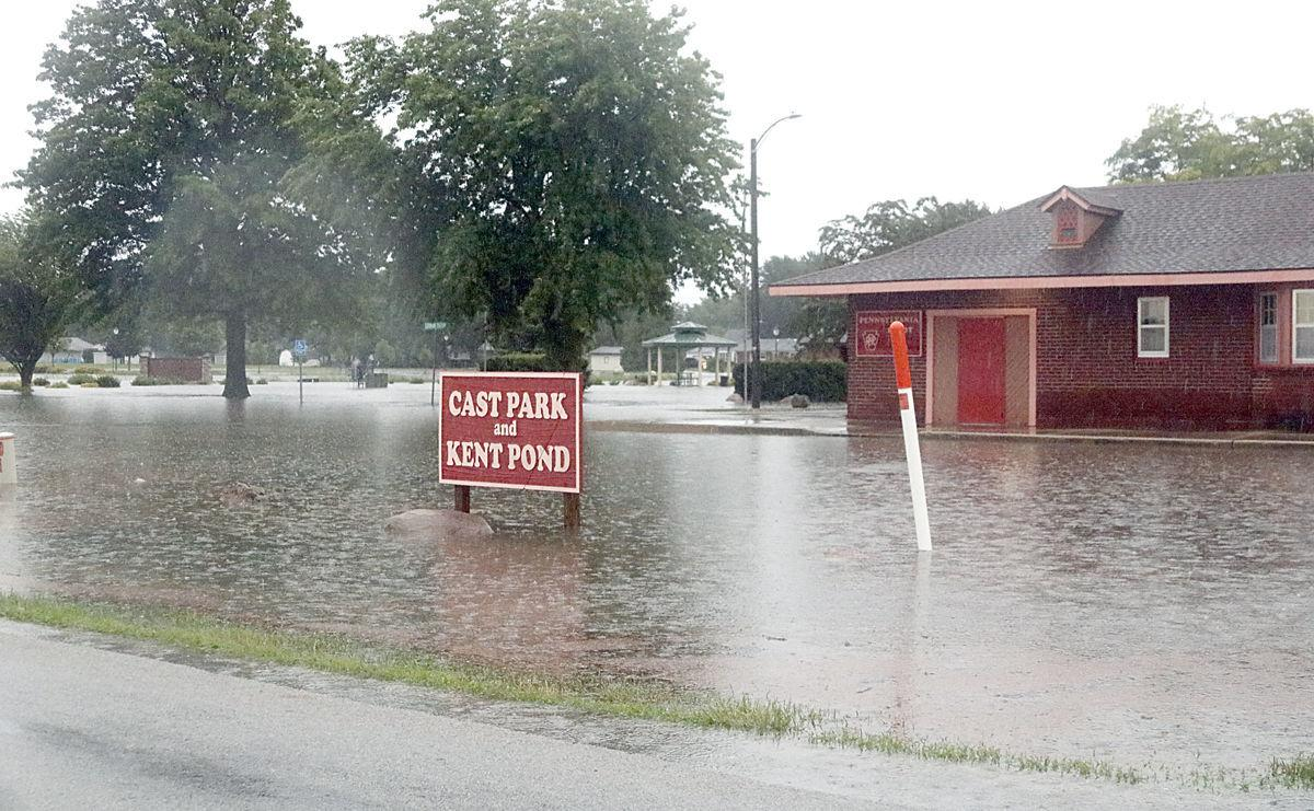 Flooding Cast Park