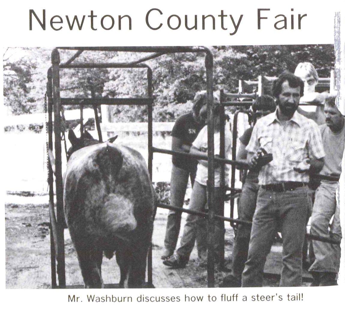 Don Washburn old county fair photo