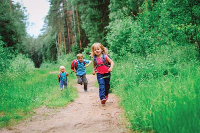 Hike with kids